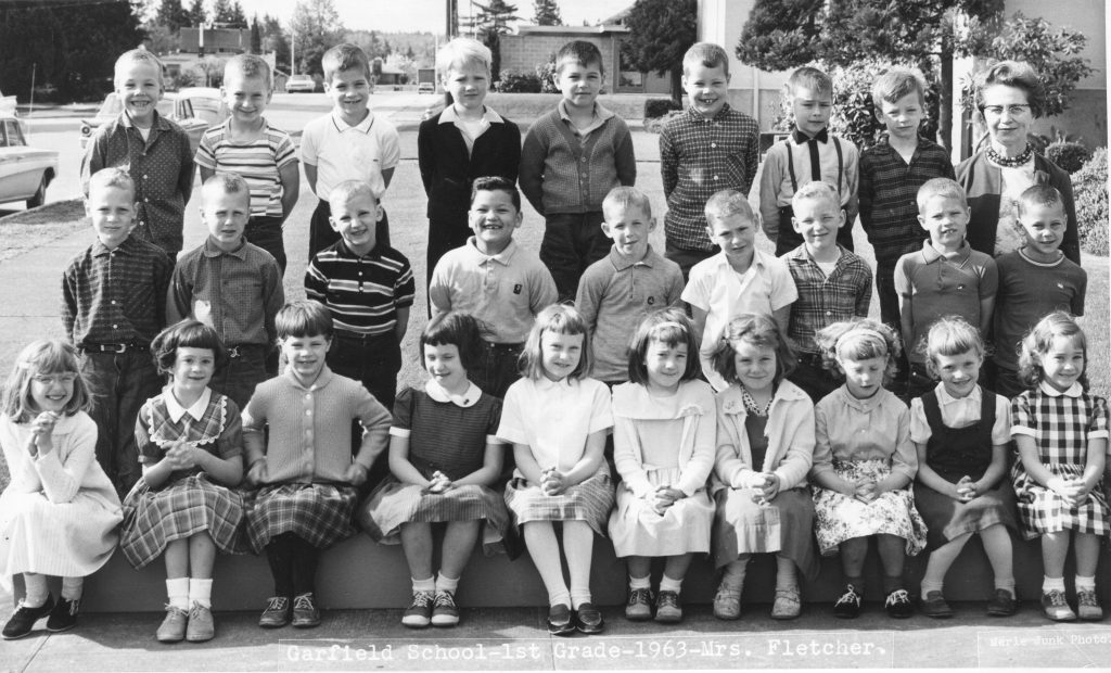 Garfield - 1st Grade-1963-Mrs. Fletcher