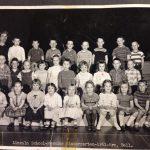 Lincoln am Kindergarten 1961 -Mrs Bell