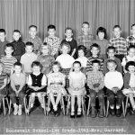 Roosevelt - 1st Grade- 1963- Mrs Garrard