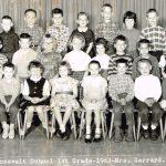 Rossevelt - 1st Grade-1963- Mrs Garrard